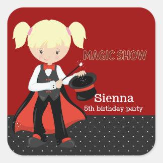 Magic Show Square Sticker