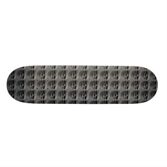 Magic Skull Grey Skate Board