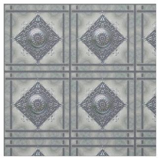 Magic Snowflake Denim Look Fabric