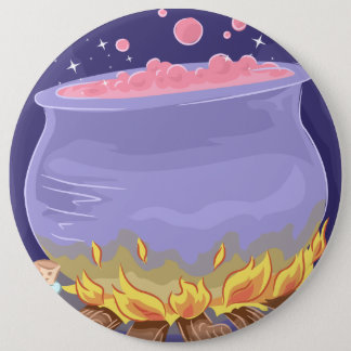 Magic Spell Cooking 6 Inch Round Button