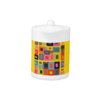 Magic Squares Yellow Teapot