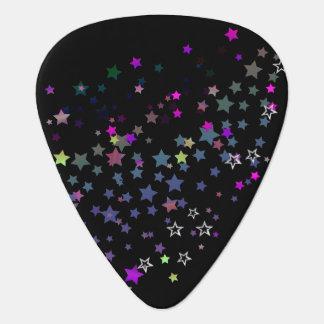 Magic Stars, Stardust, Midnight Black Guitar Pick