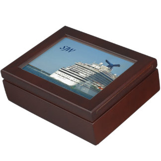 Magic Stern Monogrammed Keepsake Box