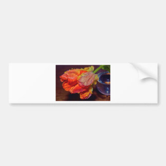 Magic talk Tulip Bumper Sticker