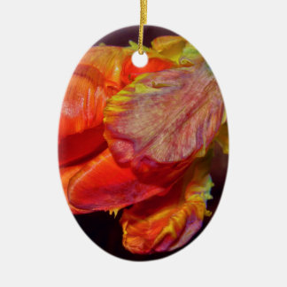 Magic talk Tulip Ceramic Ornament