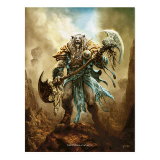 Magic: The Gathering - Ajani Goldmane Postcard