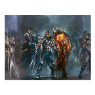 Magic: The Gathering - Planeswalker Tableau Postcard