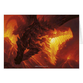 Magic: The Gathering - Volcanic Dragon Card