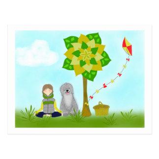Magic Tree_Rest Postcard
