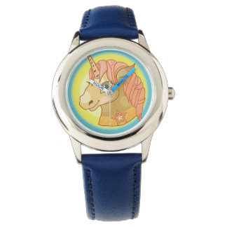 Magic Unicorn cartoon baby fantasy illustration Wristwatch
