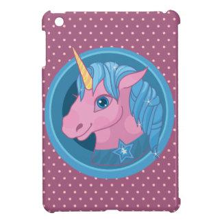 Magic Unicorn cartoon baby illustration Cute horse iPad Mini Cases