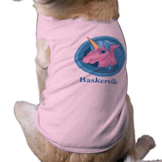 Magic Unicorn cartoon baby illustration Cute horse Pet T-shirt