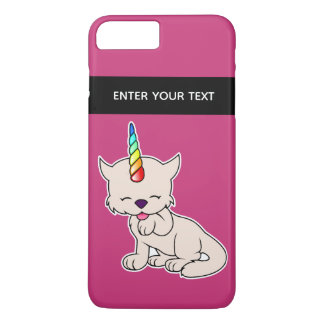 Magic Unicorn Cat = Kittycorn iPhone 8 Plus/7 Plus Case