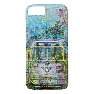 Magic vintage Tramway of Market St San Francisco iPhone 7 Case