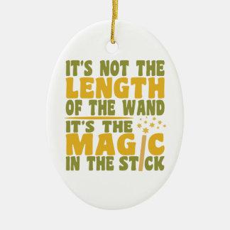 MAGIC WAND custom ornament