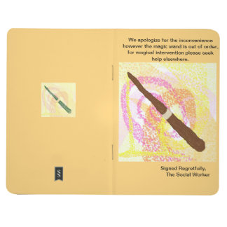 Magic Wand Out of Order Journal