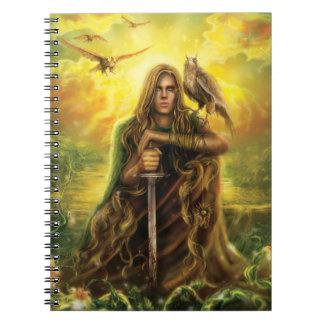 Magic Warrior Notebook