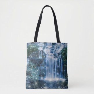Magic Waterfall All-Over-Print Tote Bag