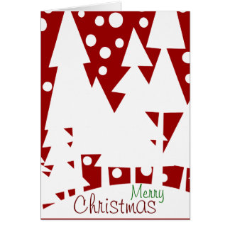 Magic White Trees Card