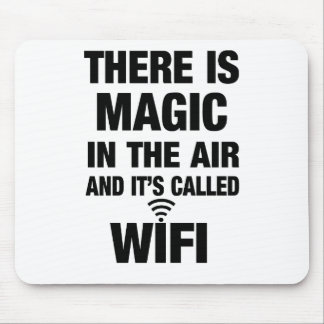 Magic Wifi Quote Mouse Pad