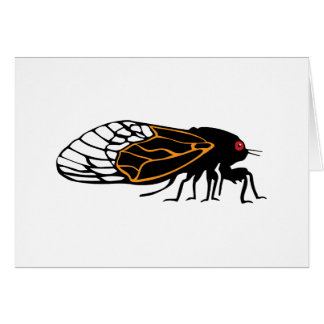 Magicada - Cicada - Cigale - Summer Buzz Card