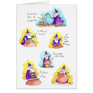 Magical Birthday card by Nicole Janes