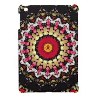 Magical Black and Red Mandala iPad Mini Cases