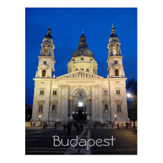 Magical Budapest Postcard