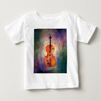 Magical cello with butterflies baby T-Shirt
