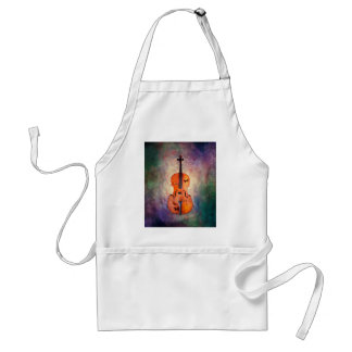 Magical cello with butterflies standard apron