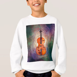 Magical cello with butterflies sweatshirt