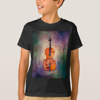 Magical cello with butterflies T-Shirt