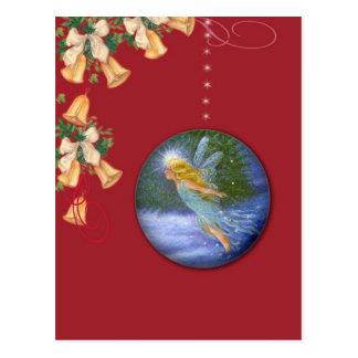 Magical Christmas Fairy post card