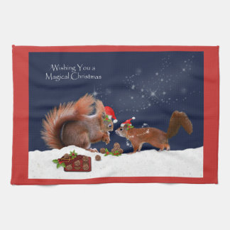 Magical Christmas Kitchen Towel