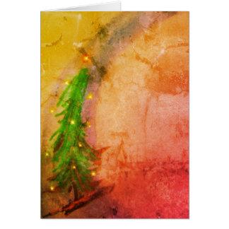 Magical Christmas Tree Joyeux Noel Card
