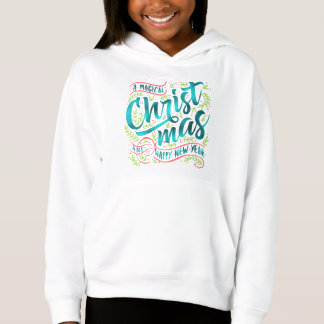 Magical Christmas Typography Teal ID441
