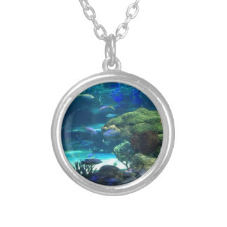 Magical Coral Reef Silver Plated Necklace