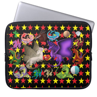 Magical Dragons Laptop Sleeve Stars