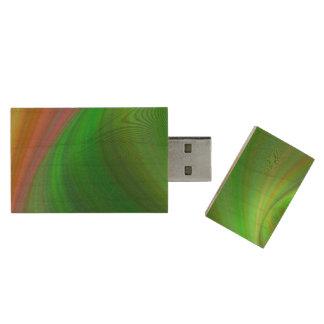 Magical Earth Wood USB 3.0 Flash Drive