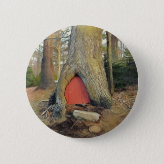 Magical Elf House 2 Inch Round Button