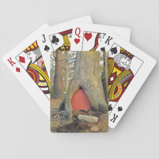 Magical Elf House Playing Cards