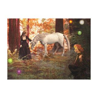 Magical Encounter Gallery Wrapped Canvas