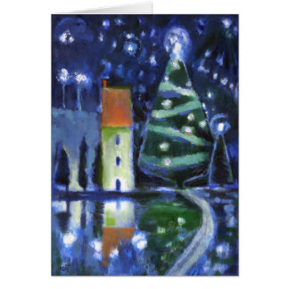 Magical Evening Christmas Card