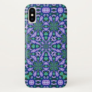Magical Fairy Flower Hologram Mandala Case