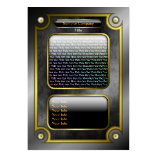 Magical Fantasy Game Card with QR Code Large Business Card