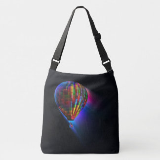 Magical Flight Black Crossbody Bag