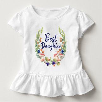 Magical Forest Best Daughter Ruffle Tee Shirt