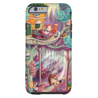 Magical Forest Tough iPhone 6 Case