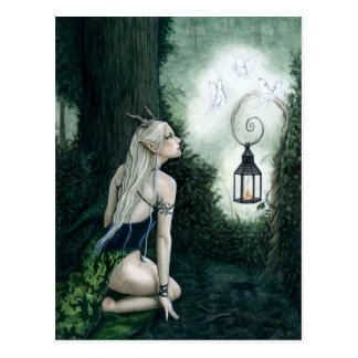 Magical Forest Elf Postcard