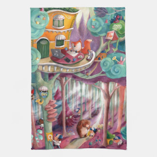 Magical Forest Kitchen Towels